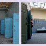 Couloir des douches