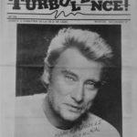 La Une du mensuel Turbulence!, n° zéro publiée en Novembre 87