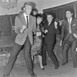 Johnny en 1961 lançant le Twist en France - (c) photo UPI/AFP